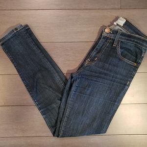 Current Elliot Dark Wash Skinny Jeans Sz 24